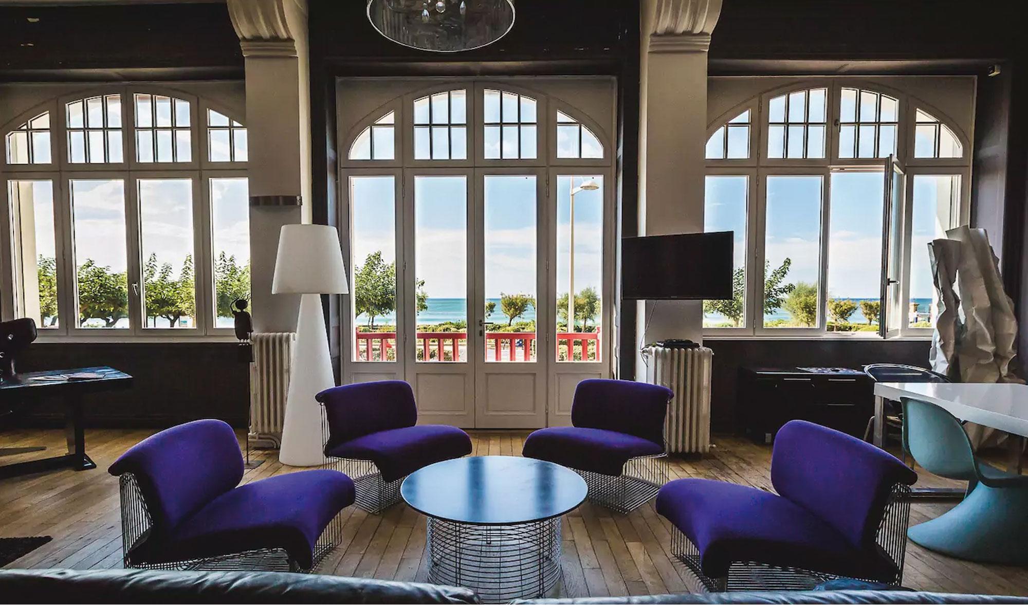 Location biarritz vue mer appartement de luxe sur la plage for Appartement de prestige